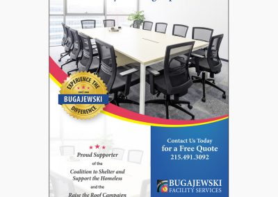 Bugajewski Facility Services Advertisement